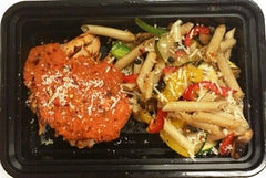 Red Pepper Penne Pasta Meal