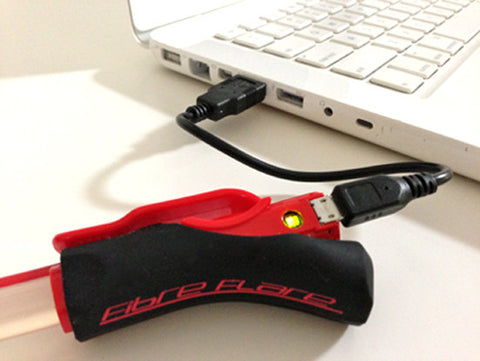 Fibre Flare USB | Super Shorty | RED