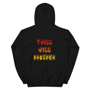 TRILL WILL PROSPER *FRONT & BACK* HOODIE