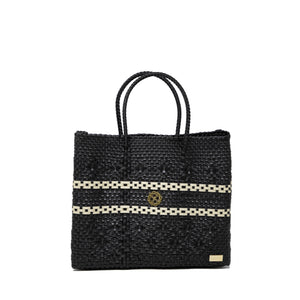 SMALL BLACK TOTE BAG