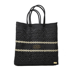 MEDIUM BLACK TOTE BAG