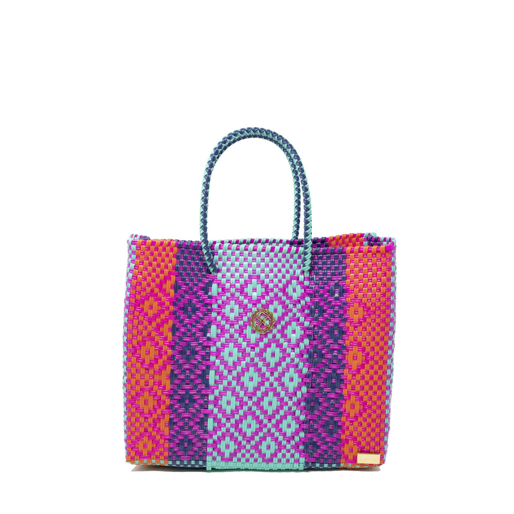SMALL COLORFULL TOTE BAG