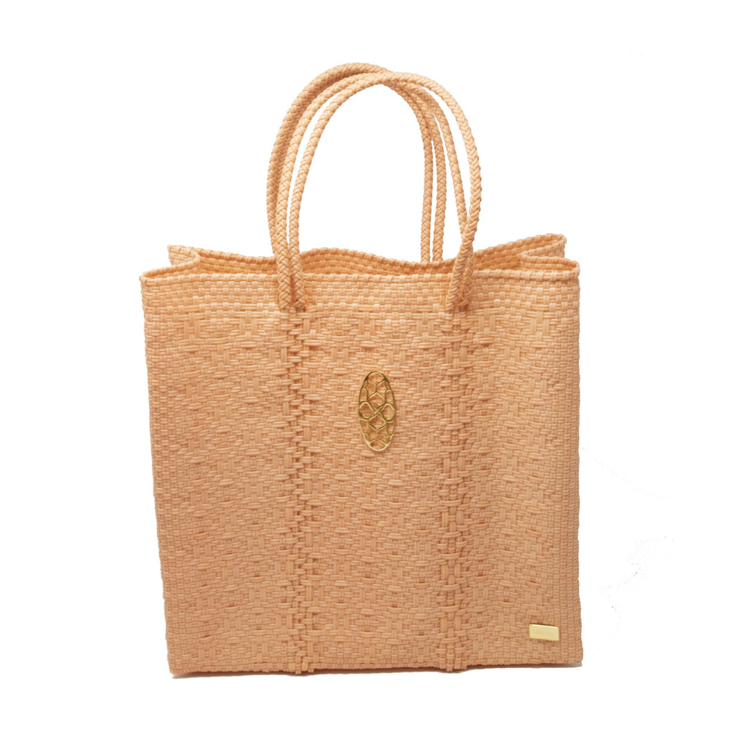 MEDIUM CORAL TOTE BAG