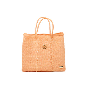 SMALL CORAL TOTE BAG