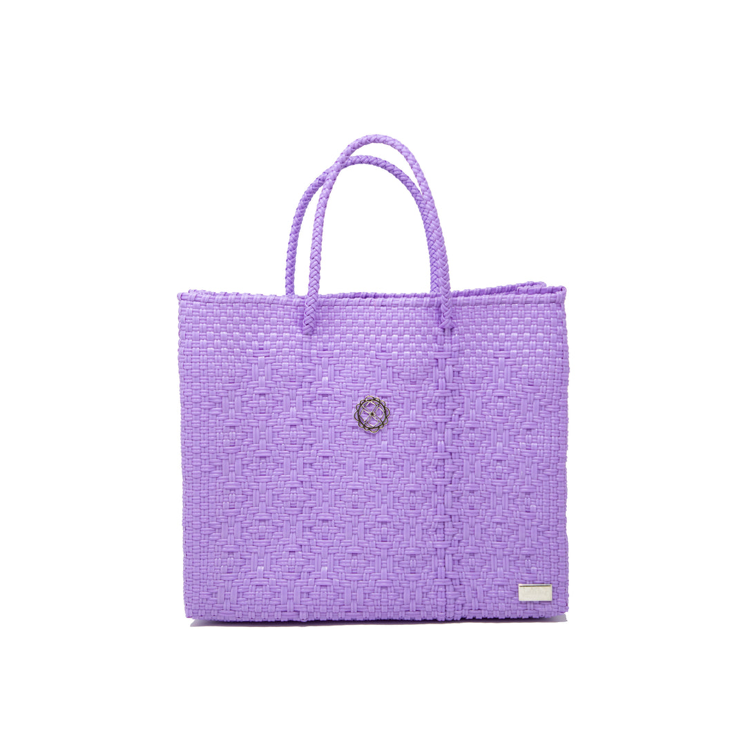 SMALL LILAC TOTE BAG