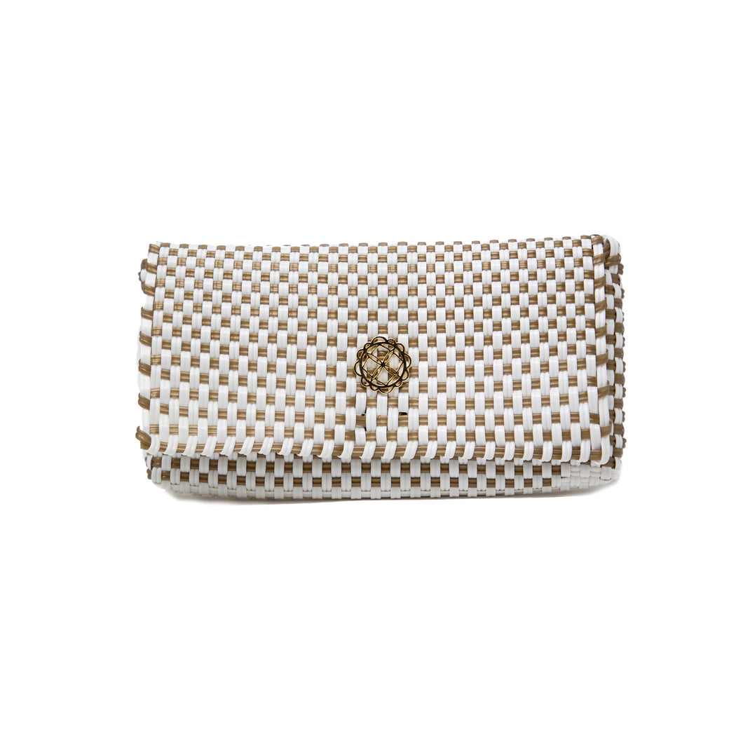 WHITE GOLD CLUTCH