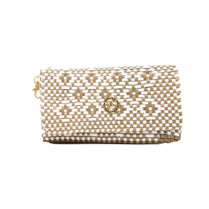 GOLD AZTEC CLUTCH