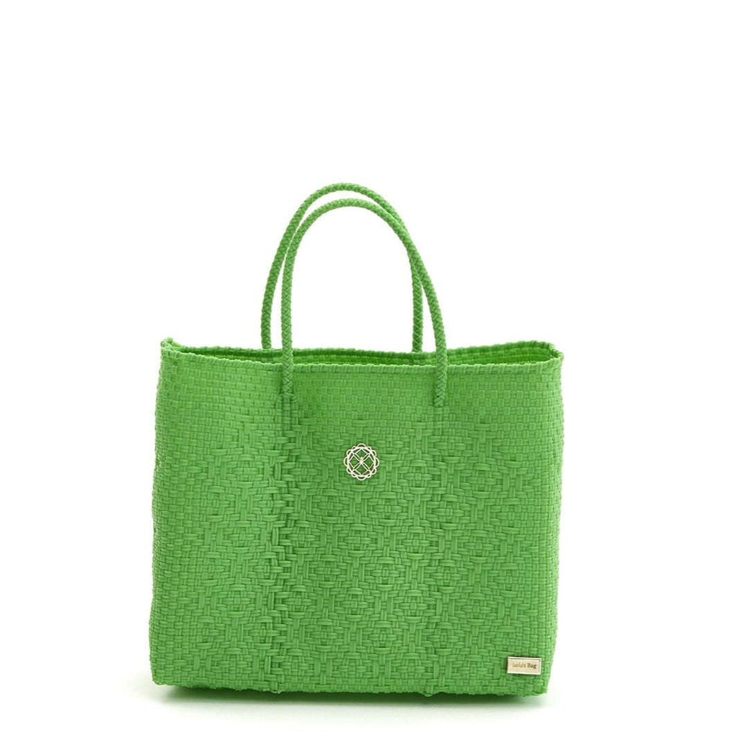 SMALL GREEN TOTE BAG