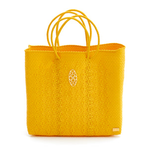 MEDIUM YELLOW TOTE BAG