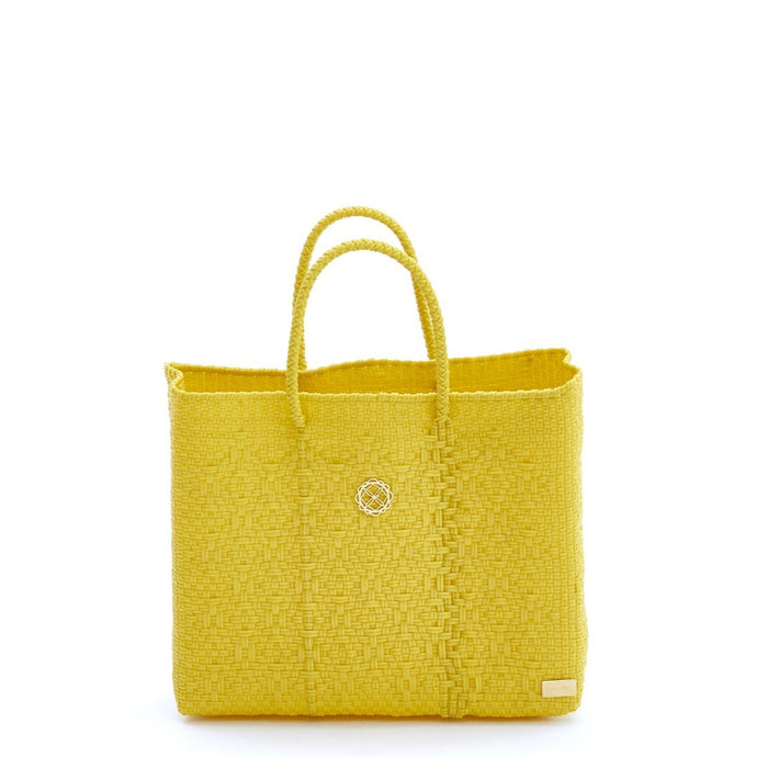 SMALL YELLOW TOTE BAG