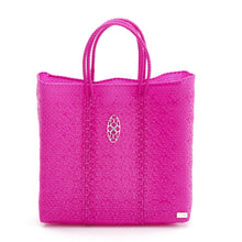 Load image into Gallery viewer, MEDIUM PINK TOTE BAG