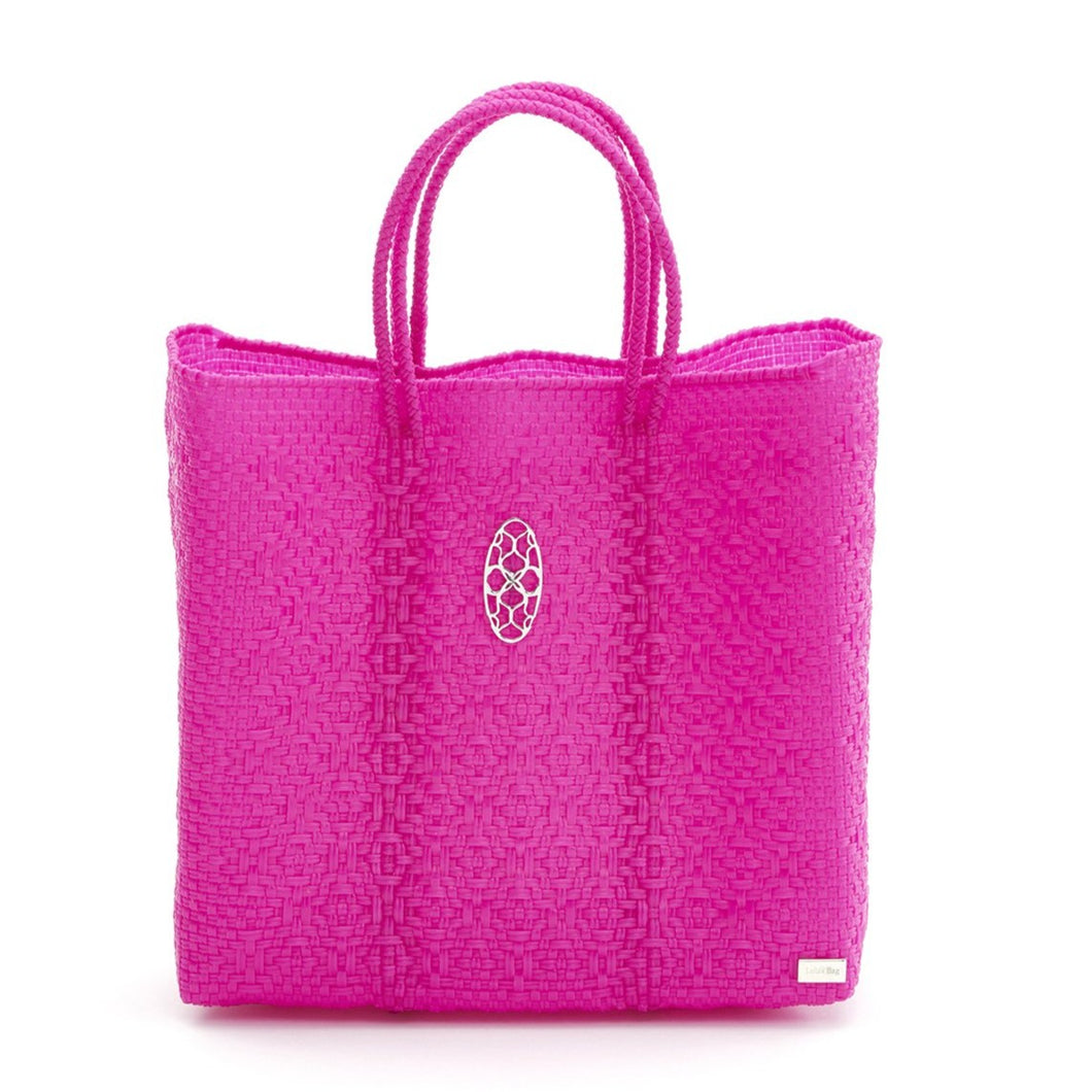 MEDIUM PINK TOTE BAG