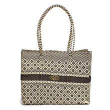 Load image into Gallery viewer, BROWN BEIGE TRAVEL TOTE WITH CLUTCH