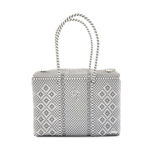 Load image into Gallery viewer, SILVER AZTEC TRAVEL CASE