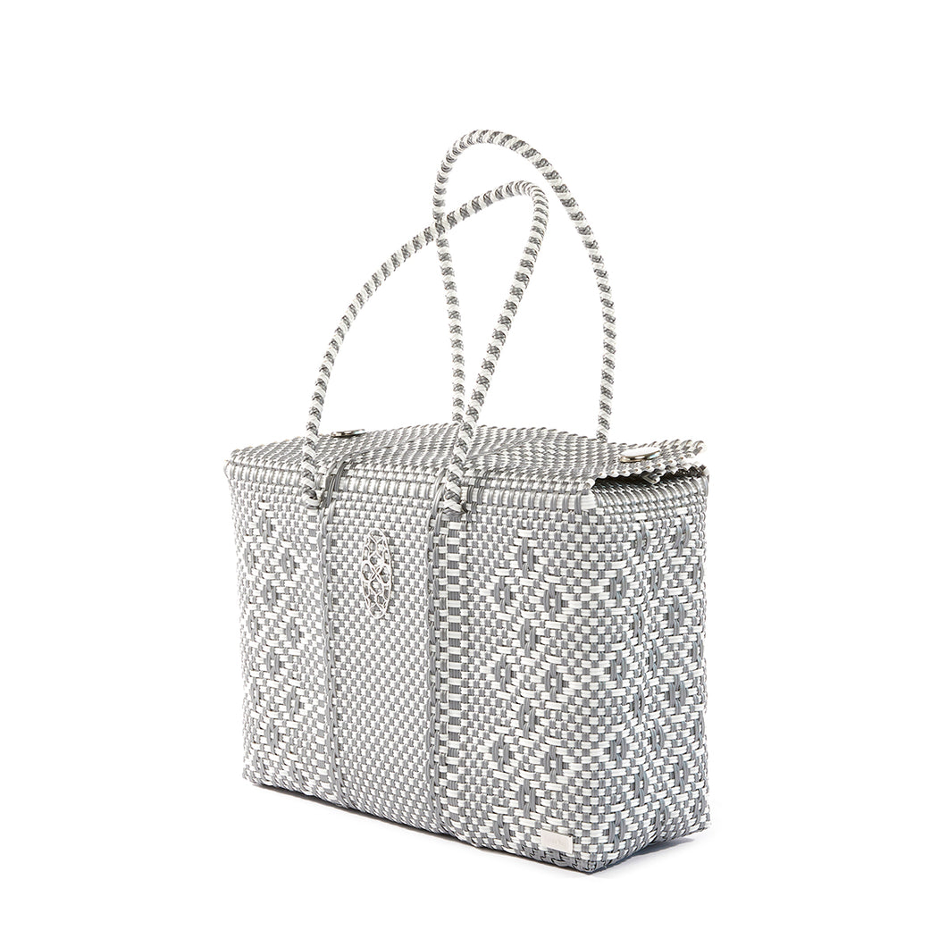 SILVER AZTEC TRAVEL CASE