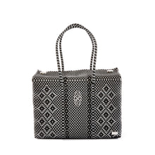 Load image into Gallery viewer, GRAY/BLACK LOLA'S BAG TRAVEL CASE