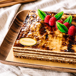 Crunchy Hazelnut Layers Cake