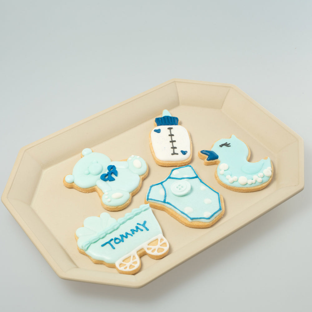 Babies / Kids party Icing Cookies (Blue)