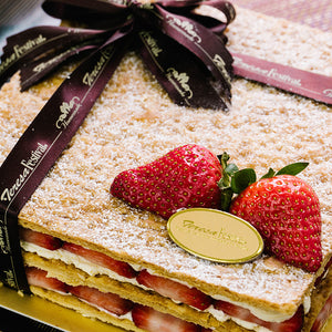 Napoleon Layers With Walnut/ Mango/ Strawberry