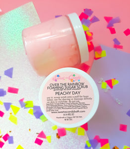 Peachy Day- Over the Rainbow Sugar Scrub