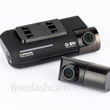 2. Two Channel Dash Cameras: Front & Back Camera