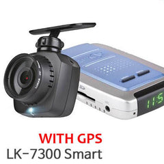 Lukas Lk-7300g Smart Full Hd Dash Cam Vehicle DVR + GPS and 8GB or 16GB or 32GB - One Channel
