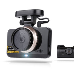 "Lukas LK-9750 Duo B Type (GPS Built-in). 2CH Full HD (1080p SONY CMOS IMX322) & 4"" LCD Touch Screen Dash Cam (16GB, 24GB, 40GB)"