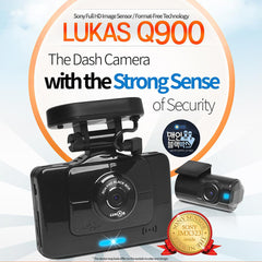Lukas Q900 Dash Camera built-in GPS