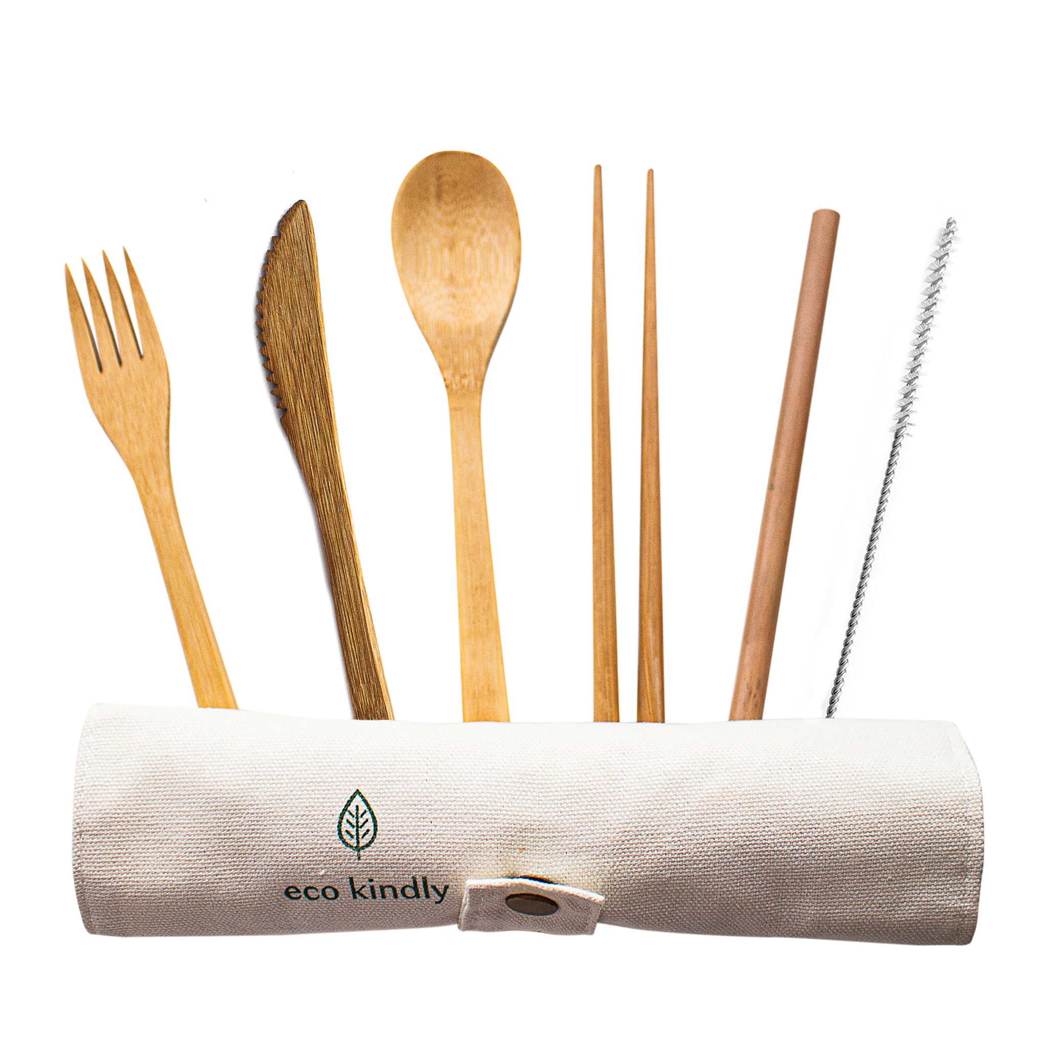 Reusable Bamboo Cutlery Set - Eco Kindly