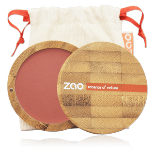Zao Compact Blush 100% natural  - Brown Pink - 322 - Eco Kindly