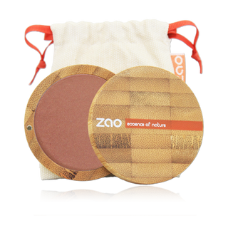 Zao Compact Blush 100% natural - Golden Coral 325 - Eco Kindly