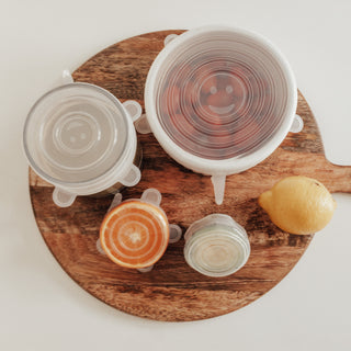 Reusable Stretch Silicone Lids - Set of 6 - Eco Kindly