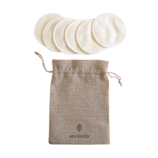 Reusable Bamboo Makeup Pads x 6 - eco kindly - Eco Kindly