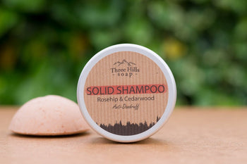 Solid Shampoo Anti-Dranduff - Roseship & Cedarwood - Eco Kindly