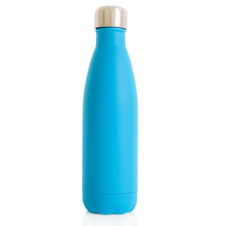 Water Bottle Premium Stainless Steel 18/8  - 500ml -  Blue - Eco Kindly