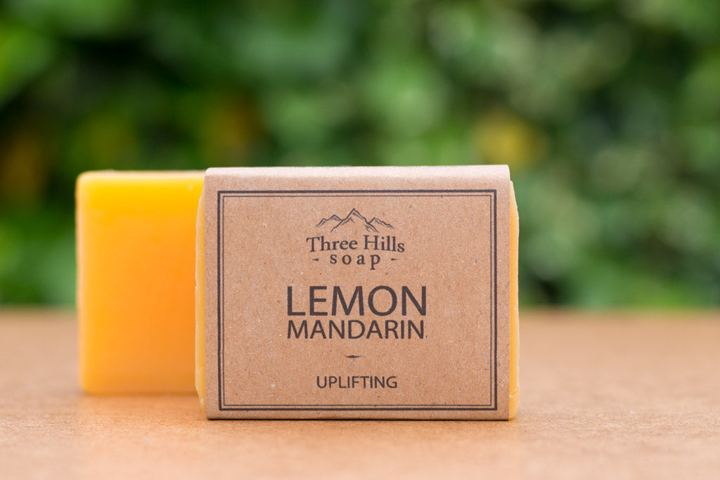 Lemon Soap Bar 100% Natural – to uplift and energise your day - Eco Kindly