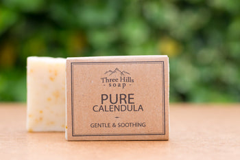 Pure Calendula Soap Bar 100% Natural - Palm Oil Free - Eco Kindly