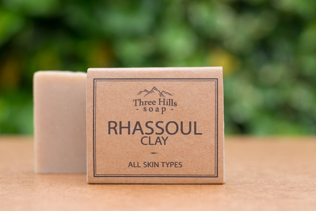 Rhassoul Clay Soap Bar 100% Natural – mineral rich clay a gentle detoxifier - Eco Kindly