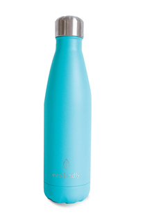 Water Bottle Premium Stainless Steel 18/8  - 500ml - Turquoise - Eco Kindly