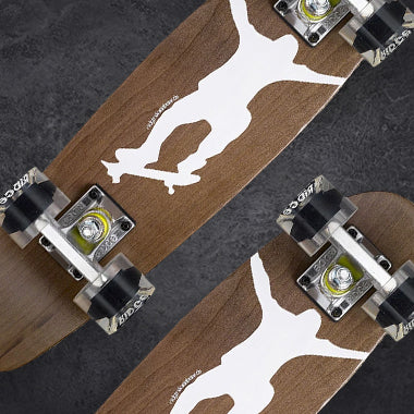 Dark Dye Mini Maple Cruisers