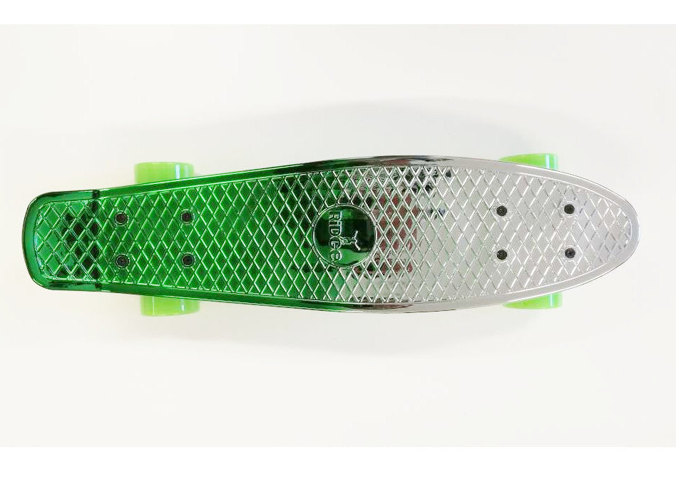 "Ridge Neochrome 22"" Mini Cruiser complete board"