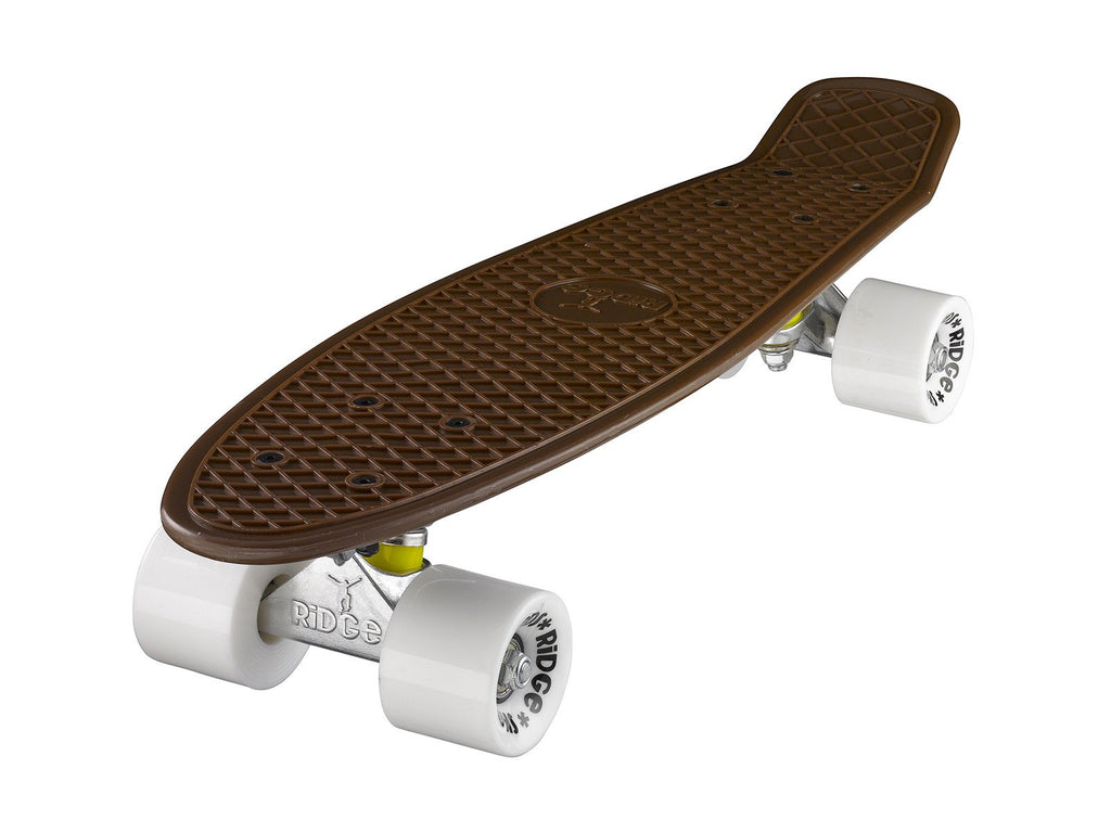 "Ridge 22"" Mini Cruiser complete board with a choice of 11 wheel colours"
