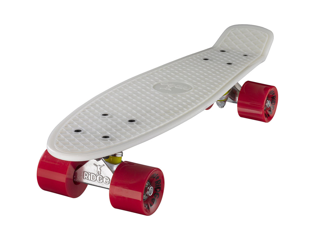 "Ridge 22"" Mini Cruiser complete board in glow in the dark"