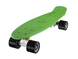 "Ridge 22"" Mini Cruiser complete board in green with a choice of 12 wheel colours"