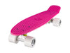 "Ridge 22"" Mini Cruiser complete board in pink with a choice of 12 wheel colours"