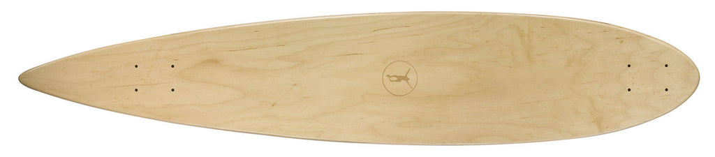 Ridge Premium Natural Skate Decks: 7 sizes incl cruiser, shark and longboard