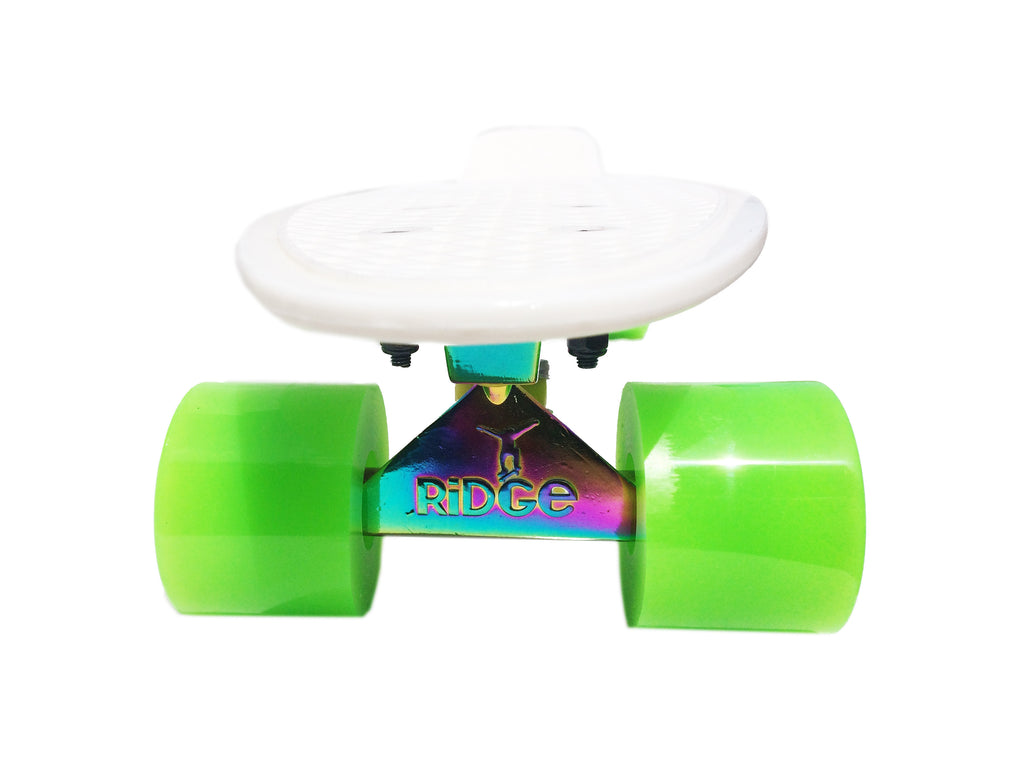 "Ridge Skateboards - 27"" Neotrucks Big Brother cruiser with neochrome trucks"