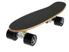 "Ridge 22"" Maple Wood Mini Cruiser Board: Dark Dye with 12 wheel colours"
