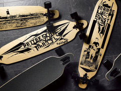 "Ridge 41"" Exclusive Kyle Egret Collaboration Twintip Longboard Complete"
