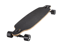 "41"" NATURAL TWINTIP 8-PLY LONGBOARD WITH 70MM WHEELS BY RIDGE SKATEBOARDS"